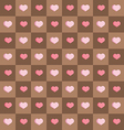 Seamless background chocolate squares vector image vector image