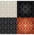 Set of Seamless Pattern In Islamic style vector image vector image