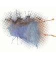 watercolor splash a nice spot vector image vector image