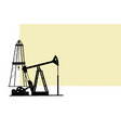 oil extraction vector image