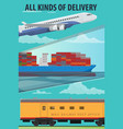 Air cargo marine shipping rail freight transport