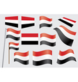 flag of Yemen vector image vector image