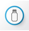 flash drive icon symbol premium quality isolated vector image