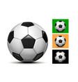 football balls set vector image vector image