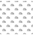 polar igloo pattern seamless vector image vector image