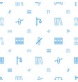 row icons pattern seamless white background vector image vector image