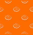 summer cloud pattern seamless vector image vector image