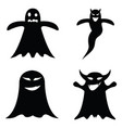 ghost icon set vector image