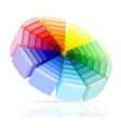 color palette 02 vector image