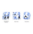 human capital abstract concept vector image vector image