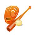 icon baseball vector image vector image