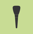 Make Up Brush Icon vector image
