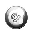 phone support call center button vector image vector image