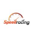 speed racing vector image vector image