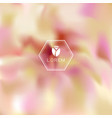 abstract blur nature concept background vector image vector image