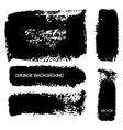 Black Grunge Background vector image