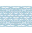 ikat tribal art print african rug vector image vector image