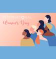 international-womens-day vector image