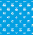 laptop pattern seamless blue vector image vector image