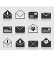 Letter an icon vector image vector image