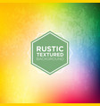 rustic grunge background in sunshine rainbow tones vector image vector image