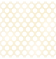 seamless grunge circles polka dots background text vector image vector image