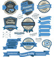 Set vintage badges and design elements