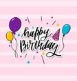 this is happy birthday typography which is can be vector image