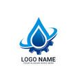 water and gas logo design editable abstract logo