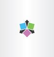 arrows icon symbol logo sign vector image vector image