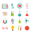 objects medical science vector image