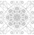 seamless pattern in Eastern style Vintage vector image vector image