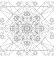 Seamless pattern in Eastern style Vintage