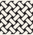 trendy monochrome twill weave seamless vector image vector image