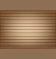 3d mock up realistic wood background vector image vector image