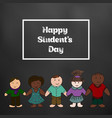 international students day picture for your vector image vector image