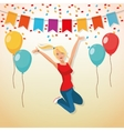 Party design Celebration icon Colorfull vector image vector image