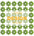 seamless pattern in colors with geometric vector image vector image