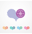 symbol for lovers color vector image