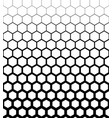 abstract geometric design halftone seamless vector image vector image