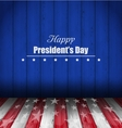 Abstract Wallpaper for Happy Presidents Day of USA vector image vector image