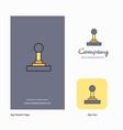gear box company logo app icon and splash page vector image vector image