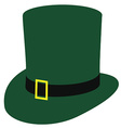 irish hat vector image vector image