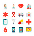 objects medicine health vector image vector image