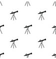 pattern with telescope vector image vector image