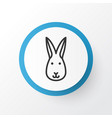 rabbit icon symbol premium quality isolated bunny vector image vector image
