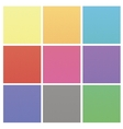 Set of Colorful Halftone Backgrounds vector image