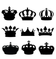 crowns vector image