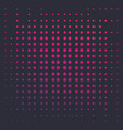 halftone background with colorful dots vector image