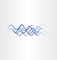 radio waves frequency icon vector image